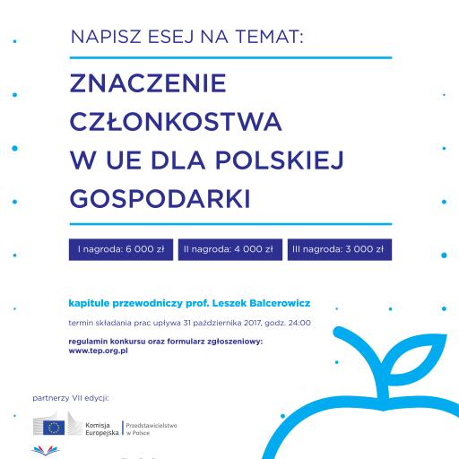 VII edycja Konkursu Młody Ekonomista