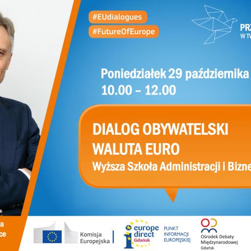 Dialog Obywatelski nt. waluty euro w Gdyni