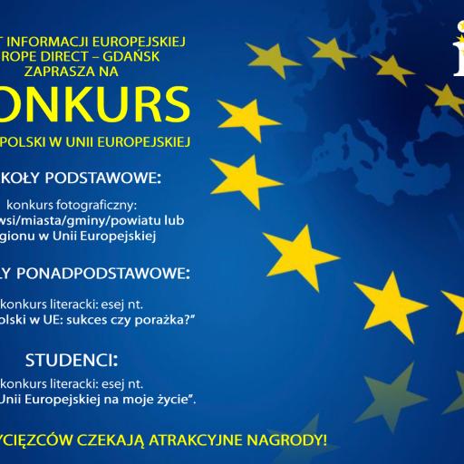 """KONKURS """"15 LAT POLSKI W UE"""""""