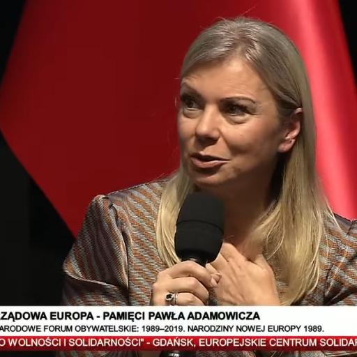 Komisarz Bieńkowska na debacie samorządowców