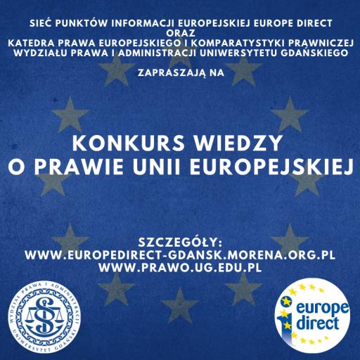 Konkurs wiedzy o prawie Unii Europejskiej